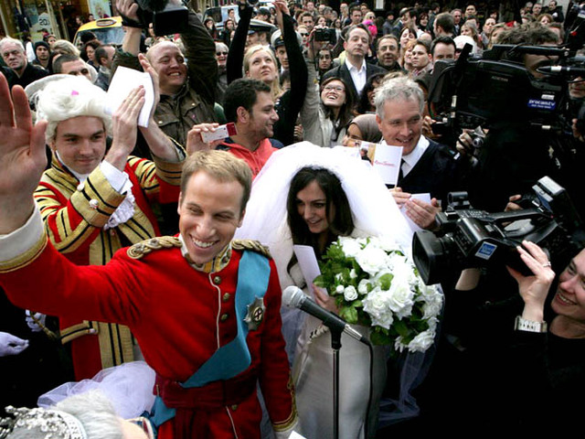 Несправжнє весілля принця Уільяма