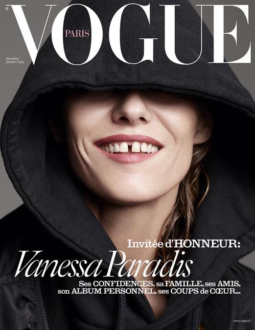 Ванесса Паради для Vogue Paris