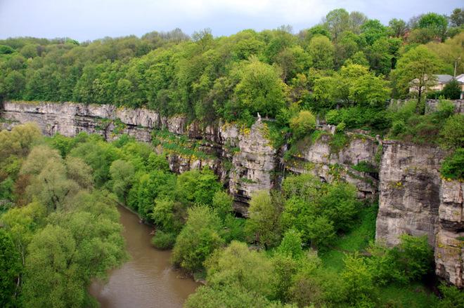 Украинские фьорды: Букский каньон