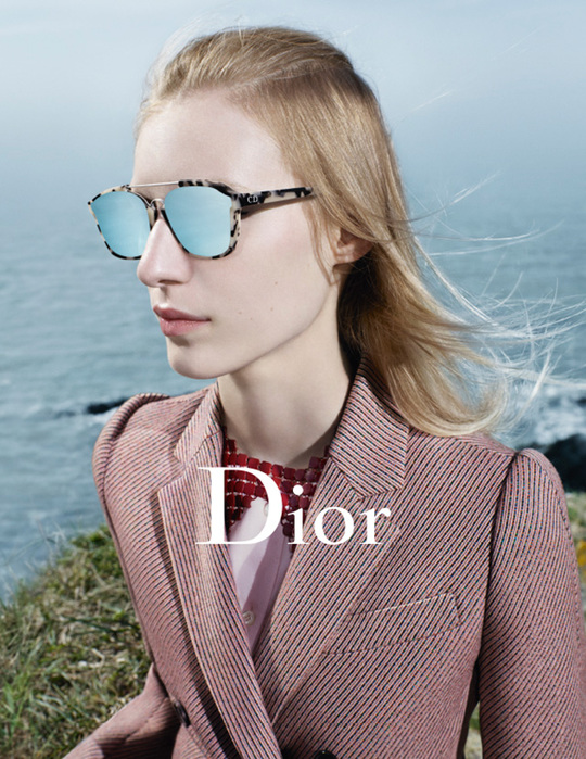 Морская бездна: рекламная кампания Dior осень/зима 2015-16