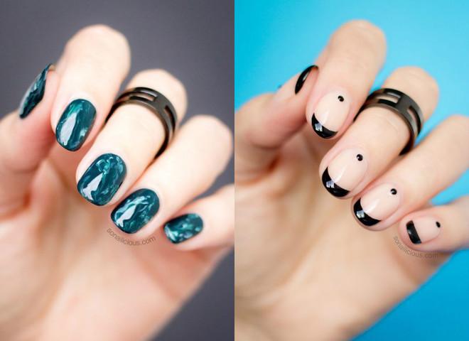Фото маникюра на короткие ногти 2017