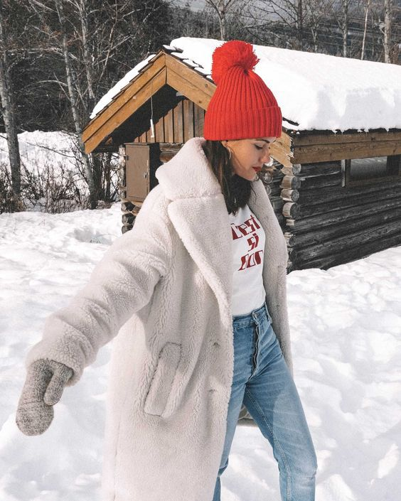 Зимние образы в белом цвете