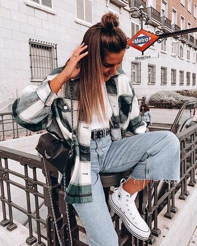 Трендові фланелеві сорочки: як і з чим носити