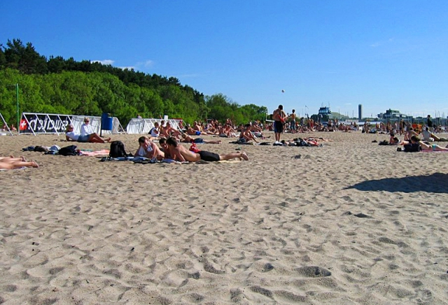 Лучшие пляжи Балтийского моря: пляж Пирита, Эстония