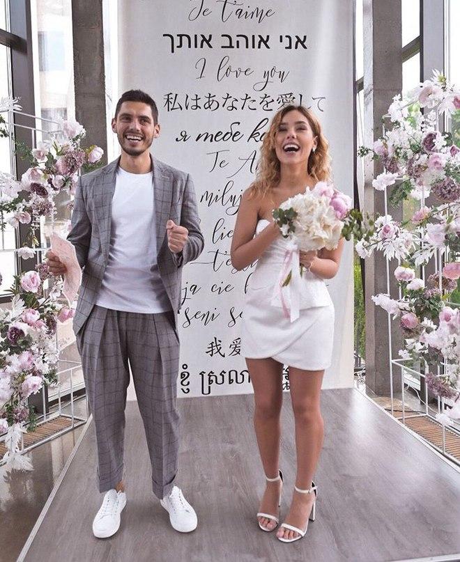 Никита Добрынин и Дарья Квиткова поженились: фото молодых