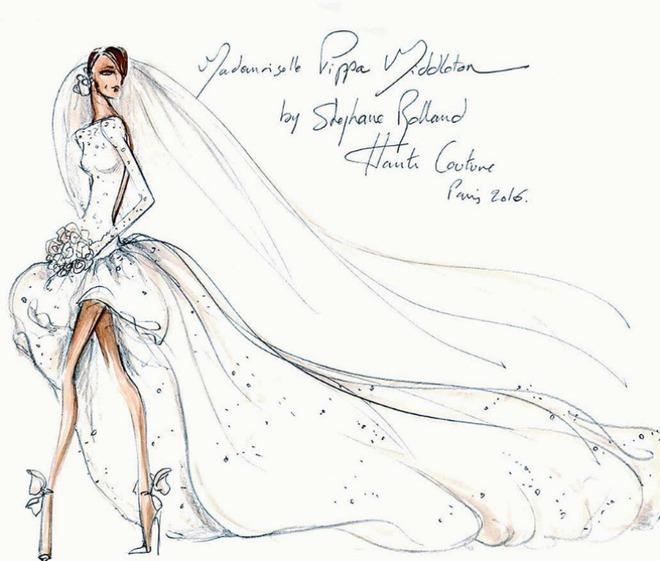 Пиппа Миддлтон свадебное платья