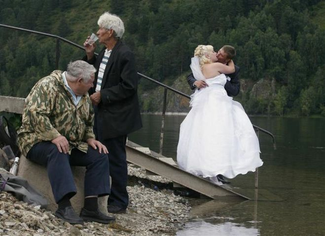 Романтичней не бывает. Лучшие свадебные фото