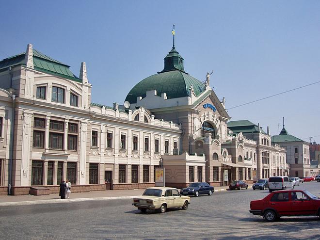Архітектурні пам'ятки Чернівців. Залізничний вокзал