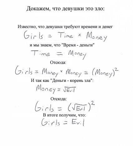 Девушки-зло. Доказанно наукой