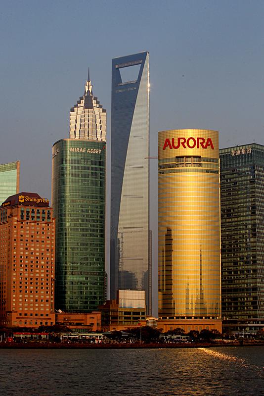 Топ 5 небоскребов: Шанхайский всемирный финансовый центр