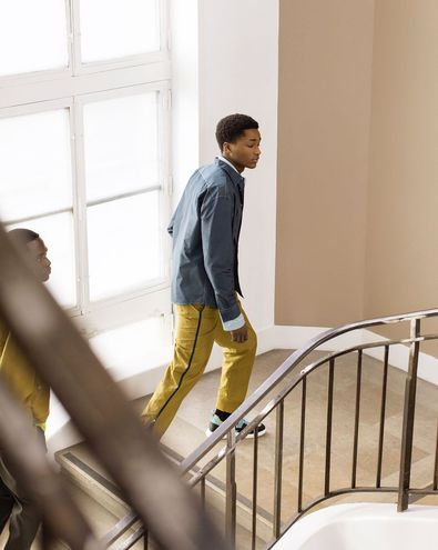 Мужская коллекция Hermès осень-зима 2021/22