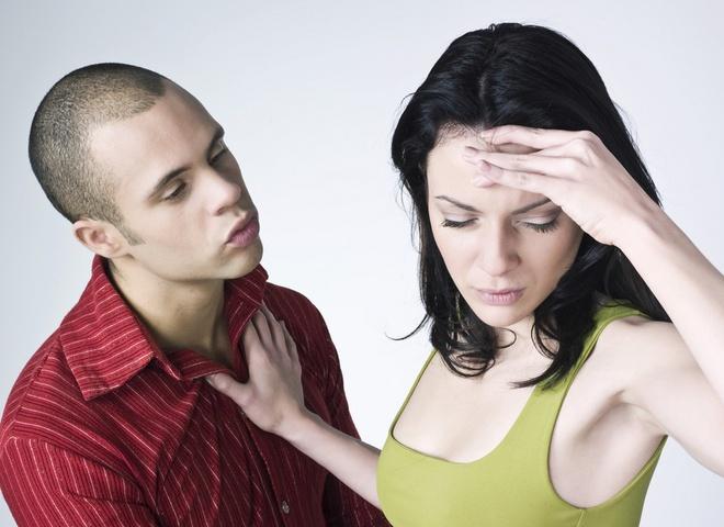 Отказ от секса и мужчина в ярости