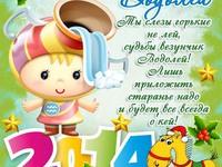 Вітання на День Народження Водоліїв