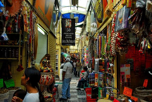Рынок шаманов и колдунов в Мехико