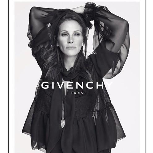 Джулия Робертс - новое лицо Givenchy