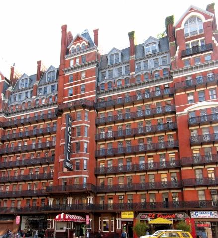 готель Chelsea, Нью-Йорк