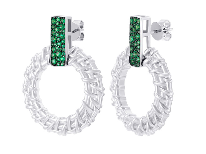Серебряные сережки ZARINA
