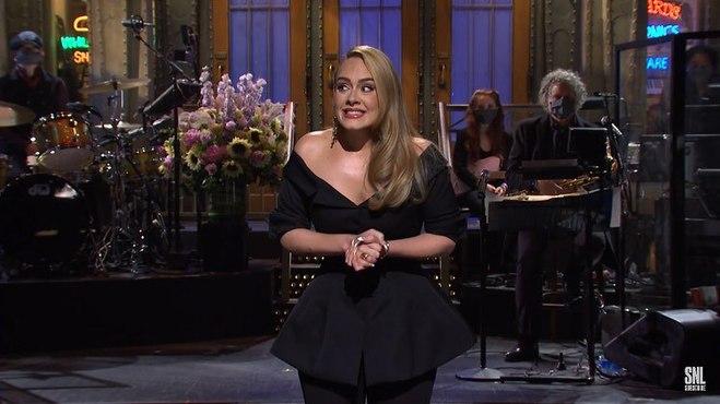 Адель на Saturday Night Live
