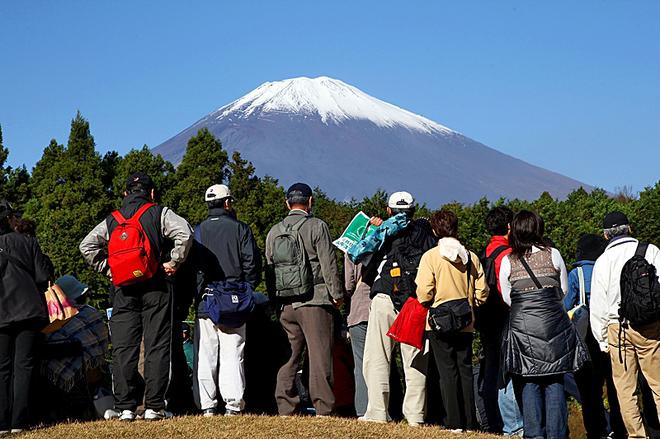Путешествия к вулканам: Вулкан Фудзияма