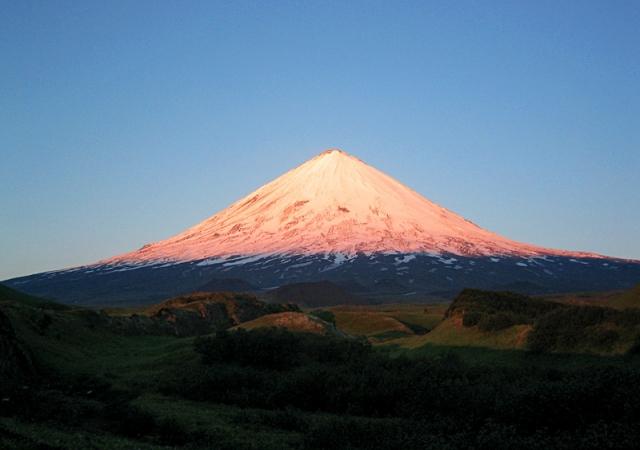 Путешествия к вулканам: Вулкан Ключевская сопка