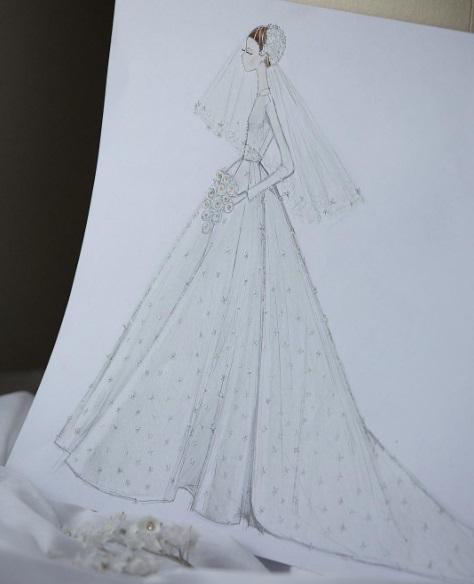 Як створювалася сукня Міранди Керр