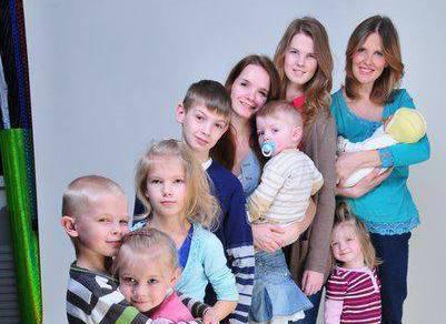 Ирина и ее 12 детей