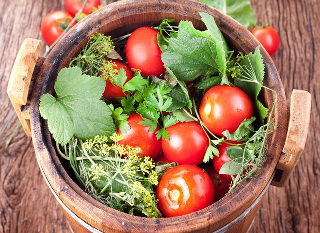 Консервация помидоров