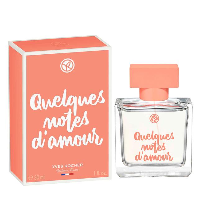 Парфюмированная вода Quelques Notes D'amour.