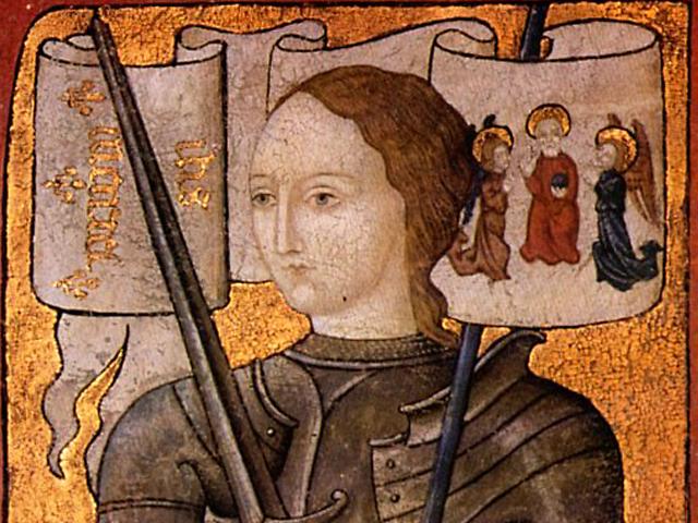 Жанна д'Арк - национальная героиня Франции, сумевшая поднять дух армии и вд