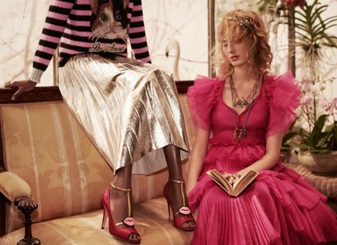 Gucci представили яскраву та екзотичну рекламну кампанію