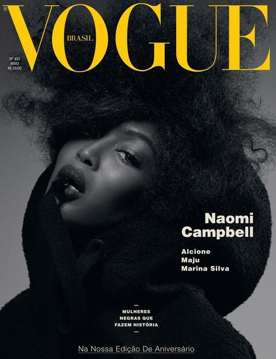Наомі Кемпбелл знялась для обкладинки бразильського Vogue