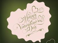 Милая открытка на день Святого Валентина 2015