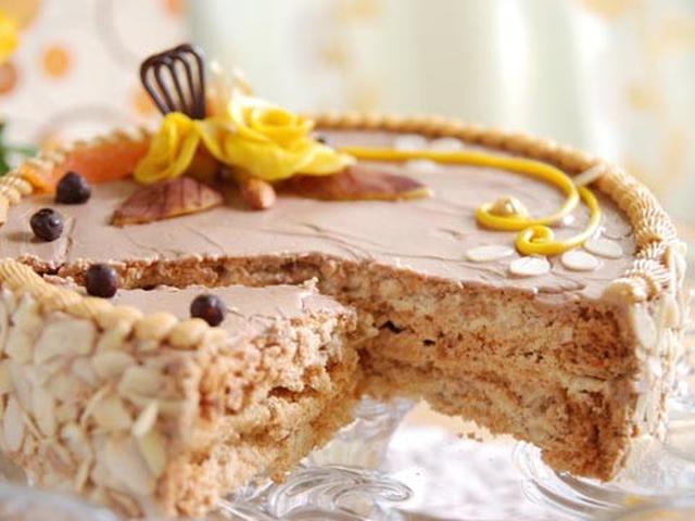 Приготовь киевский тор по домашнему рецепту