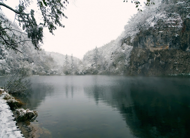 Місця, де зима незрівнянно прекрасна