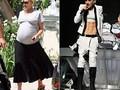 Голлівудські зірки під час і після вагітності