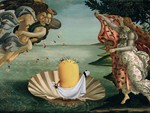 Исторические картинки в современной обработке от Bénédicte Lacroix