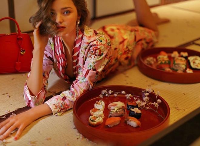 Весняна ніжність: Міранда Керр у зйомці Grazia China