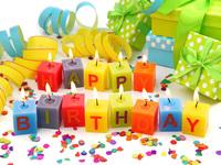 Яркие картинки на День Рождения