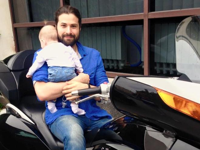 Володимир Ткаченко з донькою
