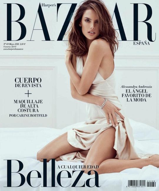 Алессандра Амбросіо в чуттєвій зйомці для Harper's Bazaar