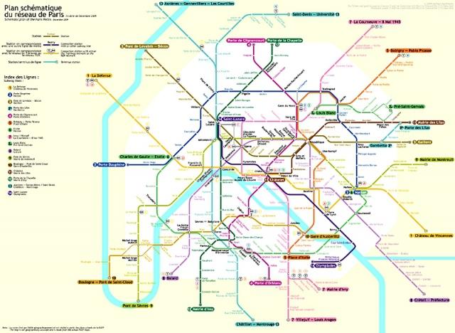 Самые запутанные метро мира