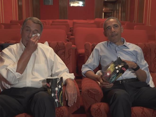 Барак Обама снялся в комедийном ролике о своем выходе на пенсию (видео)