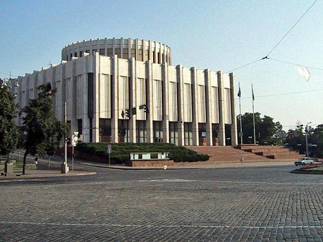 Советские объекты в Киеве (фото)