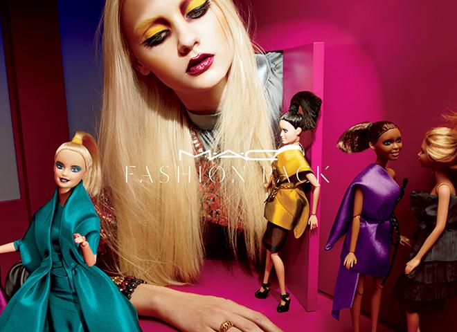 Кукольная коллекция коллекция макияжа M.A.C