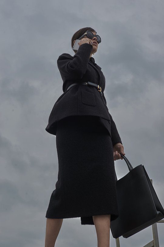 Ярослава Бойко знялася для Officiel-Online в образі Клер Андервуд