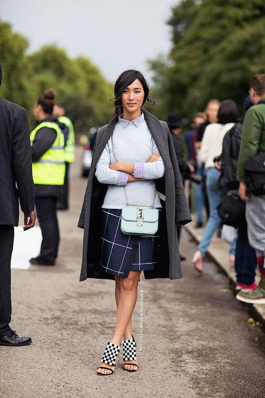 Мода весни 2016: спідниці з запахом