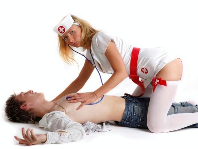 Это именно второй вариант, как и в салонах эротического массажа. Ролевы