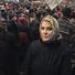 Рената Литвинова відвідала траурний марш пам'яті Бориса Нємцова (фото)