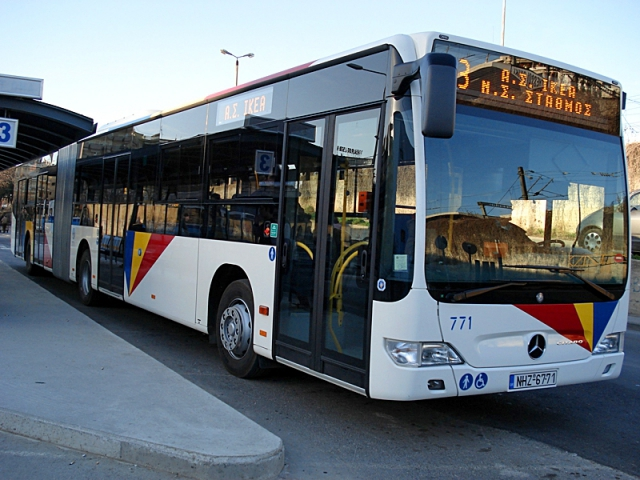 автобусы Греции