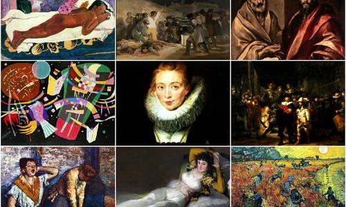 Репродукції робіт видатних художників